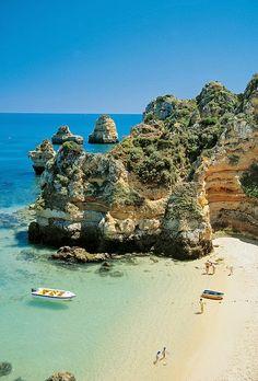 Beautiful beach in Portugal