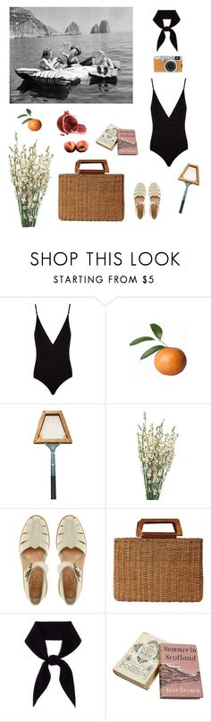 """""""A little Italian cove..."""" by isabellakoos ❤ liked on Polyvore featuring Osklen, Fujifilm, YMC, Salvatore Ferragamo and Chloé"""