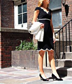 The Classy Cubicle: Black and White. The fashion blog for chic young professional women who need office style inspiration and work wear ideas for the corporate world.