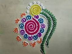 Image result for easiest rangoli design