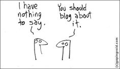 In my life, everything is a blog post ;)