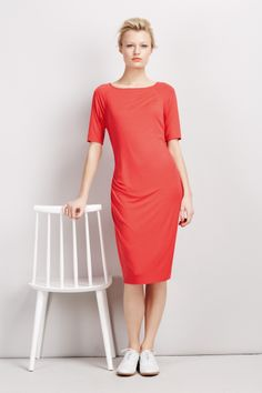 #BestofBritish Modal Rich Drape Midi Dress