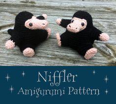 Niffler Ami Pattern by MilesofCrochet