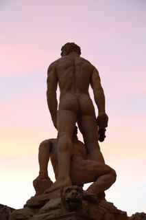 Hercules and Cacus by Baccio Bandinelli, Florence