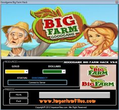 Big Farm Cheats Hack Tool ( Unlimited Gold and Dollars)