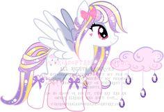Jewel Rain Pony Adoptable (CLOSED) by YukiAdoptablesPonies