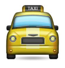 """Résultat de recherche d'images pour """"emoticone taxi"""""""