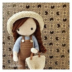 podkins:  Another little crochet doll … #crochet by ISABELLE KESSEDJIAN on Flickr.