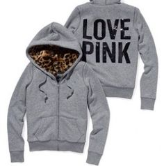 wish my whole closet was VS Pink Warm Outfits, Pink Outfits, Cute Outfits, Winter Outfits, Pink Love, Vs Pink, Faux Fur Hoodie, Zip Hoodie, Jackets
