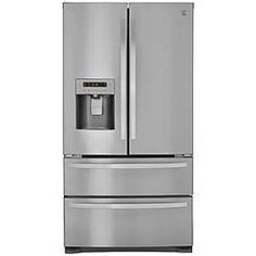 Kenmore 72495 26.7 cu. ft. 4-Door French Door Refrigerator w/Dual Freezer Drawers – Active Finish™