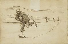 Death on Skates by Hugo Simberg