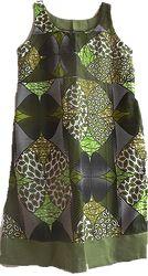Olive Tree Dress With Yoke L/XL