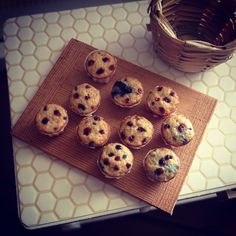 Blueberry muffins 1:12