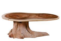 Chamcha Wood Coffee Table w/Root Base on OneKingsLane.com