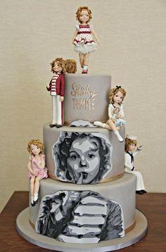 Shirley Temple. - Cake by La Belle Aurore                                                                                                                                                                                 More