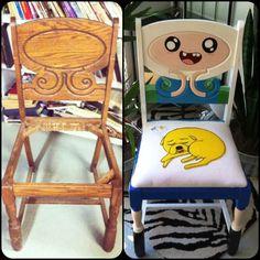 Aus altem Stuhl mach neuen Stuhl on http://www.drlima.net