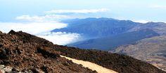 View of the north of Tenerife Island from Teide peak #Tenerife