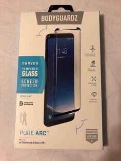 BodyGuardz Tempered Glass Screen Protector PURE ARC SAMSUNG GALAXY S8+ ONLY!!! #BodyGuardz