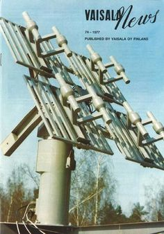 Vaisala News 74 1977 Finland, Utility Pole, Wind Turbine, Make It Simple, News