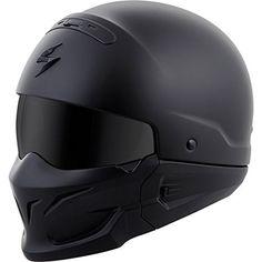ScorpionExo Covert Unisex-Adult Half-Size-Style Matte Black Helmet (Matte Black, Small). For product info go to:  https://www.caraccessoriesonlinemarket.com/scorpionexo-covert-unisex-adult-half-size-style-matte-black-helmet-matte-black-small/