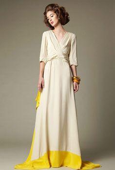 ... vestido de Chris Benz, Resort 2011