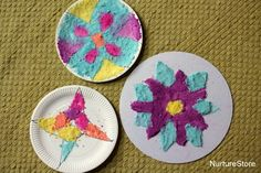 Rangoli patterns for Diwali made with colored salt