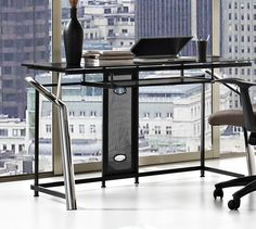Altra Computer Desk with Keyboard Tray & Reviews | Wayfair