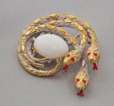 snake brooch by ART