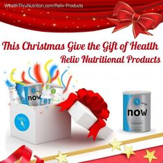 One of the best gifts you can give to your loved ones. #reliv #nutrition #gethealthy #feedyourbody #feelgood @wealththrunutrition