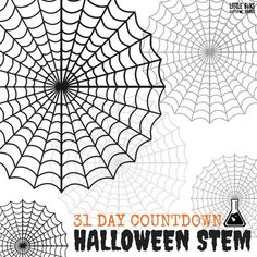 Countdown to Halloween with these awesome Halloween STEM Activities for kids! Take the Halloween STEM challenge today. Your kids will love these 31 STEM activities that are all Halloween themed! A great way to get kids interested in STEM and while they enjoy the excitement of Halloween! Halloween Theme Preschool, Halloween Science, 31 Days Of Halloween, Halloween Activities, Holiday Activities, Halloween Crafts, Halloween Baking, Homemade Halloween, Halloween Games