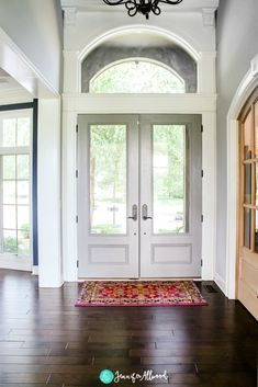 Gray Interior Front Doors by Jennifer Allwood I painted all of my interior doors gray! They really pop now and I'm loving it by Jennifer Allwood Interior Door Colors, Grey Interior Doors, Best Interior, Interior Design, Interior Shop, Contemporary Interior, Interior Ideas, Yellow Interior, Natural Interior