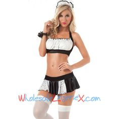 Wholesale French Maid Bedroom Costume FMC512 [FMC512] - $9.10 : LingeriePark