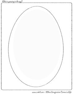 what is growing in the egg crekidcom creative drawing printouts spark - Fish Bowl Coloring Page Printable