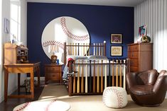 Up Cherry 5 Pc Twin Slat Bedroom this baseball themed kid's room is. amazingthis baseball themed kid's room is. Baseball Bedroom Decor, Sports Room Decor, Baseball Bat Headboard, Baseball Furniture, Baseball Themed Bedrooms, Boys Bedroom Sets, Bedroom Themes, Bedroom Ideas, Couple Bedroom