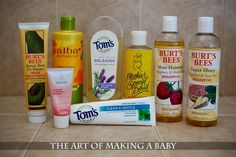 Safe Skin Routine for Pregnancy.  Chemical free products that are beneficial to you while pregnant.