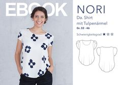 Weiteres - NORI - Da. Shirt mit Tulpenärmel eBook - ein Designerstück von DalounyDesigns bei DaWanda