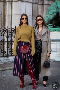Julia and Sylvia Haghjoo by STYLEDUMONDE Street Style Fashion Photography_48A6921