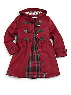 Children's duffle coat in pink | Coats, Pink and Duffle coat