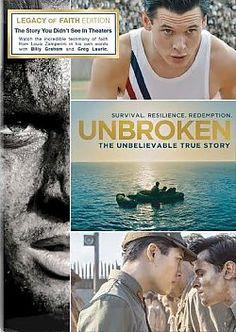 Unbroken (Legacy of Faith Edition) - DVD