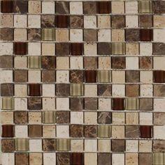 Natural Stone Glass Lux Multi-Color Tile  www.arcstoneandtile.com