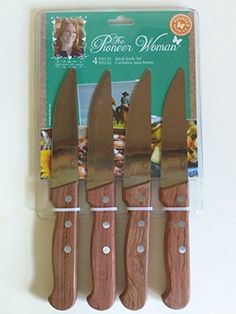 The Pioneer Woman 4 Piece Steak Knife Set