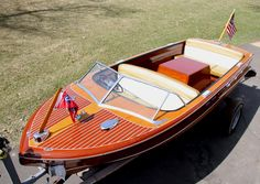 Classic Boats 1956 18 Chris Craft Continental For Sale Chris Craft Wooden Boats, Wood Boats, Runabout Boat, Classic Wooden Boats, Ski Boats, Classic Motors, Power Boats, Super Sport, Boat Building