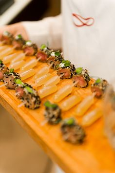 Stones Events Pipette Canapes!