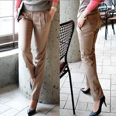 Pleated tapered pants (Theatrical Romantic Kibbe type)