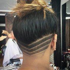 Chevron Undercut Design