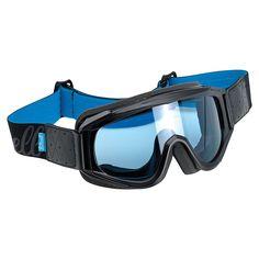 606cd486609 Biltwell Overland Goggles (Black Blue Frame Blue lens) Price   52.99  Motorcycle Wear