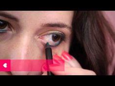 fazendo a francesinha: tutorial de maquiagem com sombra verdito e ouradito, lápis verdex e batom coralzito.  #sombra #verde #dourada #lapis #batom #coral