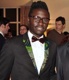 Glasses; Krass optik Bowtie; H&M Shirt; Café Coton Tux:...