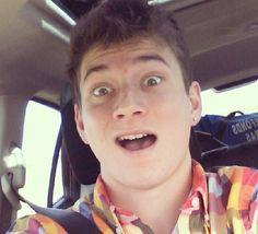 Love his shirt! Mitch or Bajan Canadian