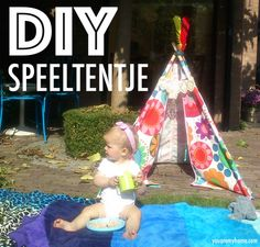 DIY speeltentje | http://youaremyhome.com/2014/10/diy-speeltentje/